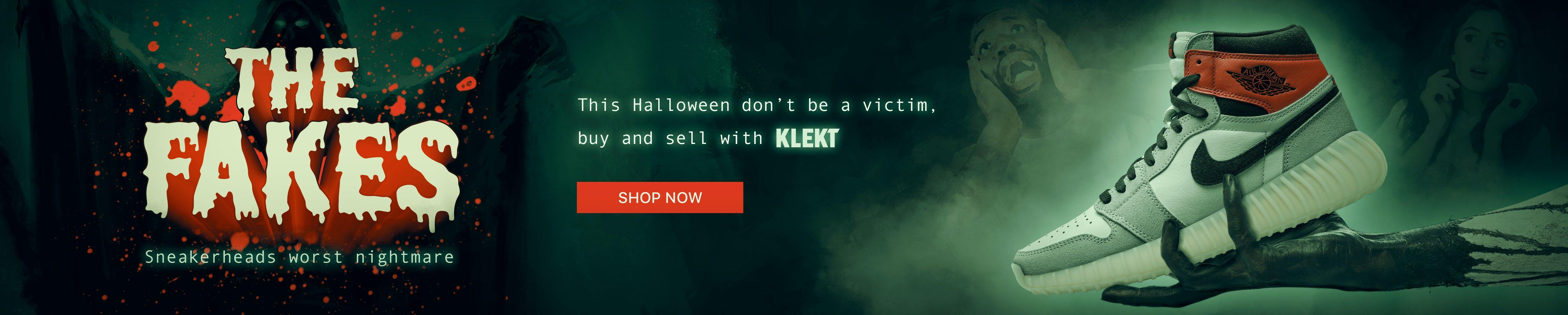 Halloween Sneakers Fakes Hype KLEKT