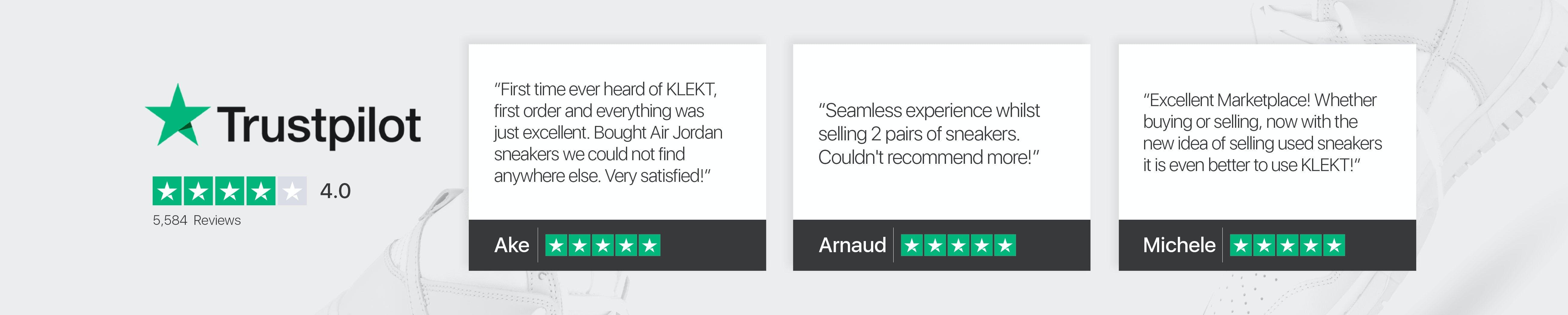 Trustpilot Reviews banner
