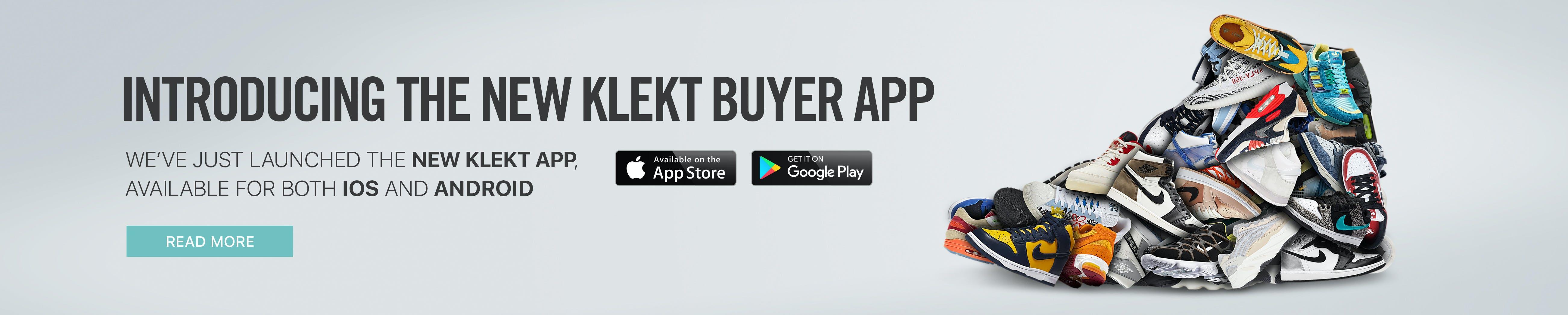 New app KLEKT app Sneakers IOS Android
