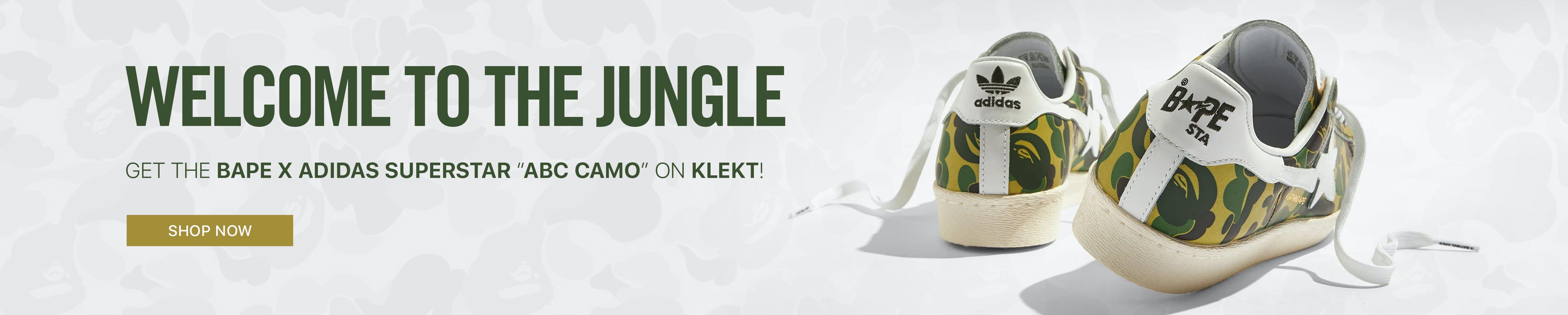 adidas x bathing ape-superstar 80s 2021 KLEKT KLEKTIVE