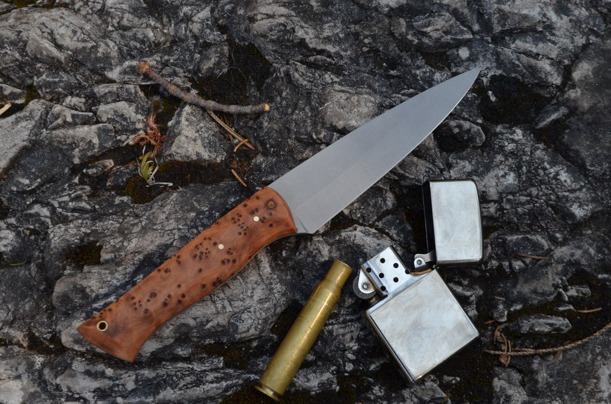 Messerschmiede Fiedler — Steakmesser Vogelaugenahorn