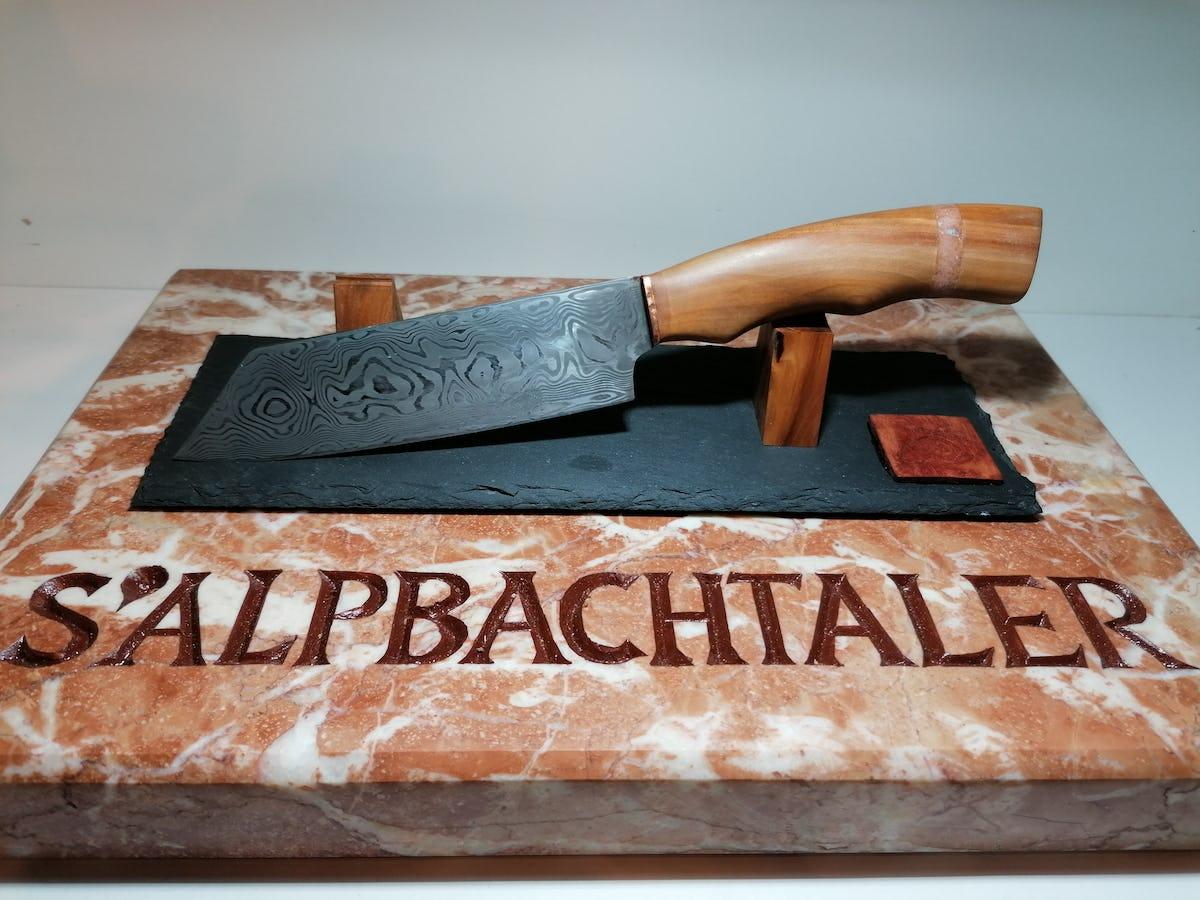 Widderkopf Messer - S`Alpbachtaler Küchenmesser