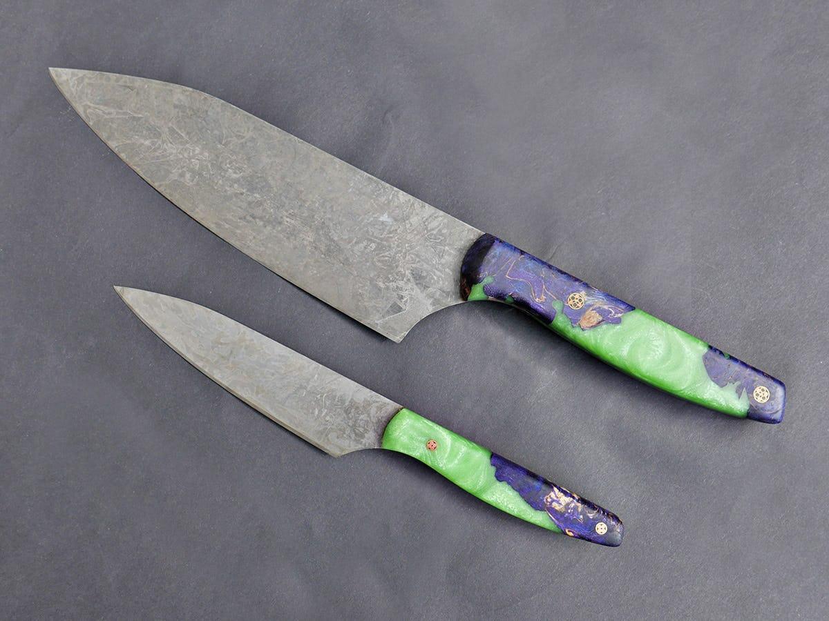 Der Artisan - 2 Teiliges Küchenmesser Set