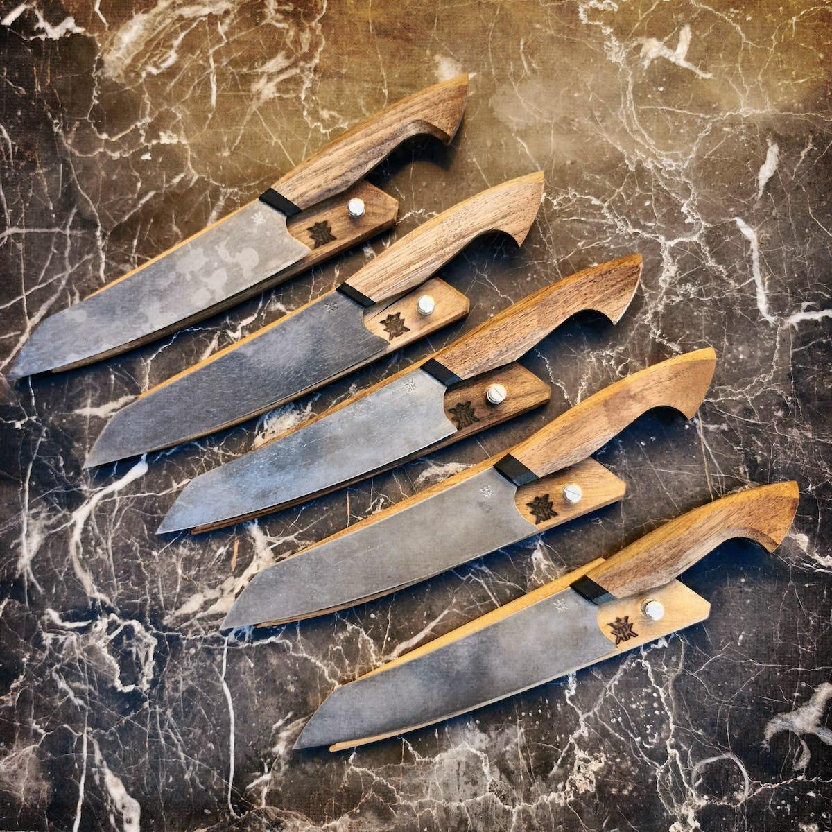 Koko Knives - Slicer 190 - Walnuss Serie