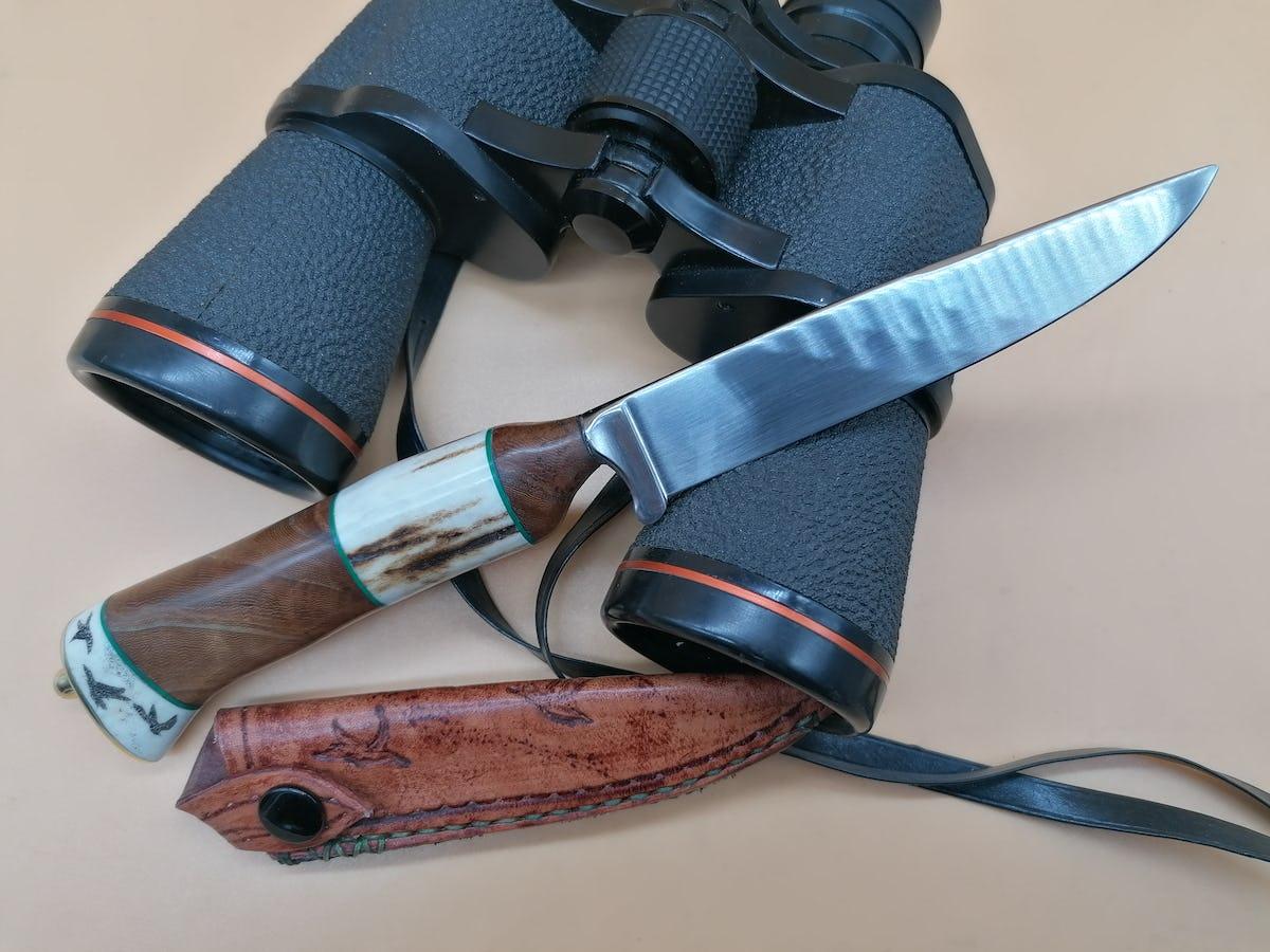 Widderkopf Messer - Fremde Federn