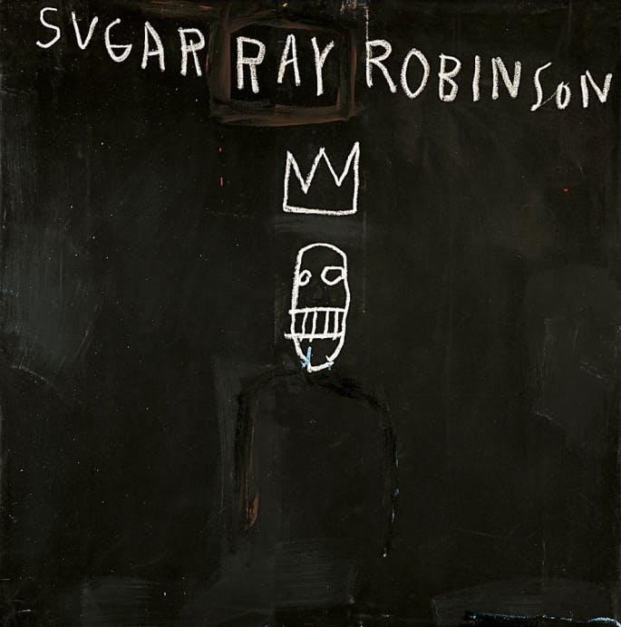 Untitled (Sugar Ray Robinson), 1982, Jean-Michel Basquiat