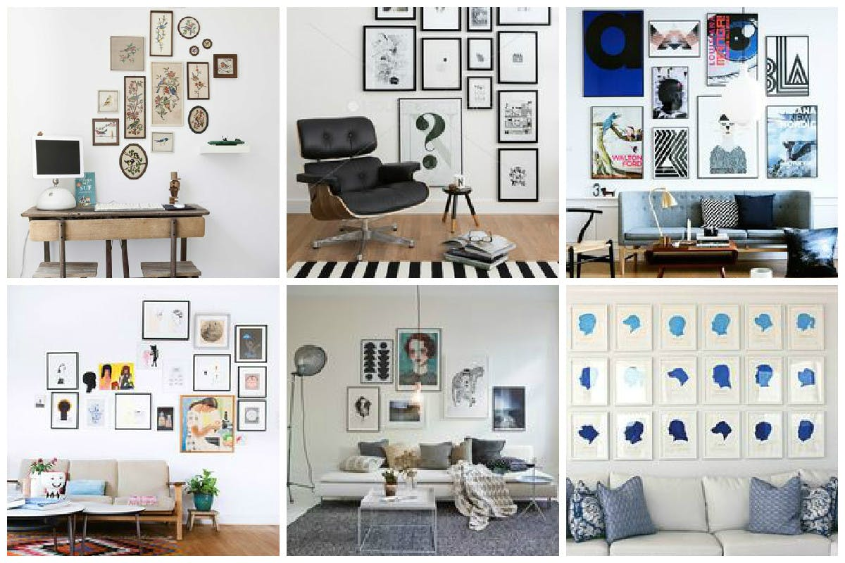 Six Simple Steps To Create The Perfect Gallery Wall King Mcgaw