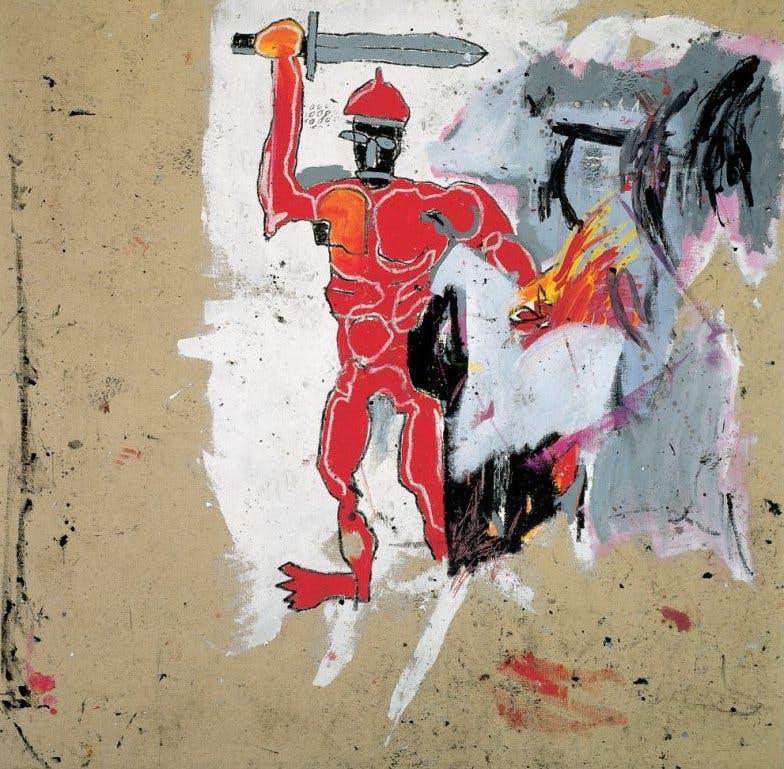 Untitled (Red Warrior), 1982