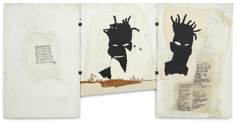 Self Portrait, 1981, by Jean-Michel Basquiat