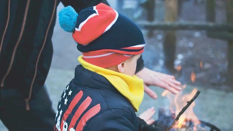 Eld och barn (brand)