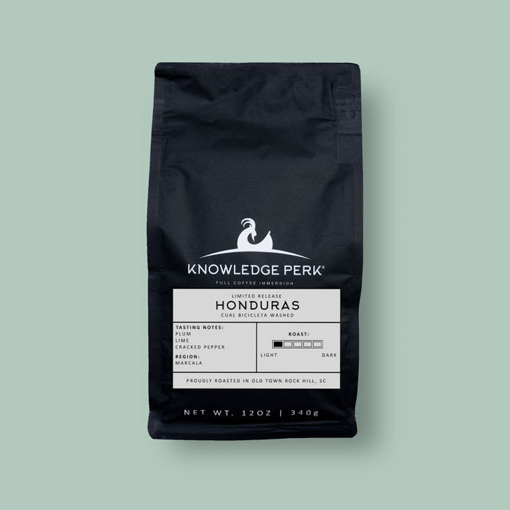 limited release single-origin honduras coffee