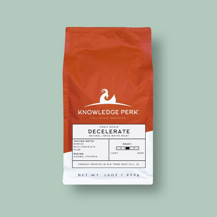 single-origin swiss water decaf coffee