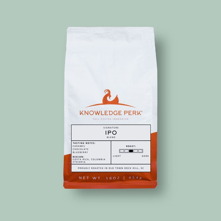 signature ipo coffee blend
