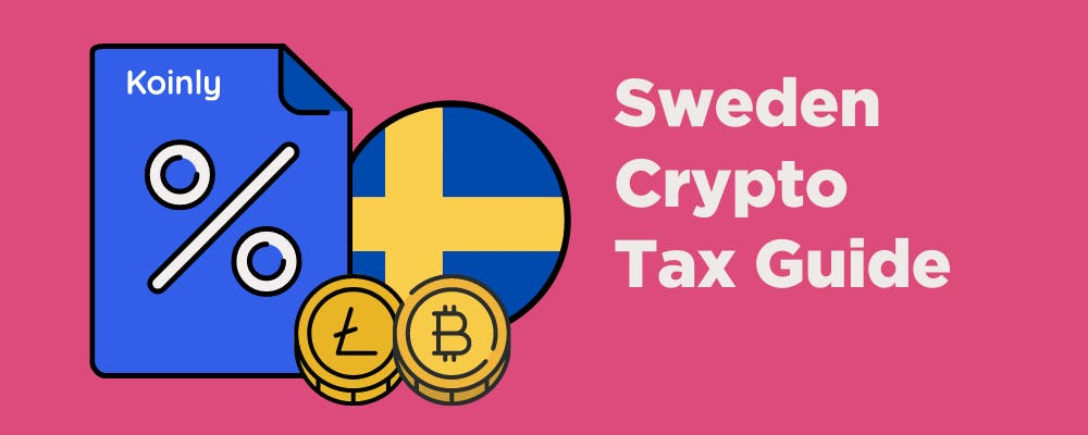 Sweden crypto tax guide