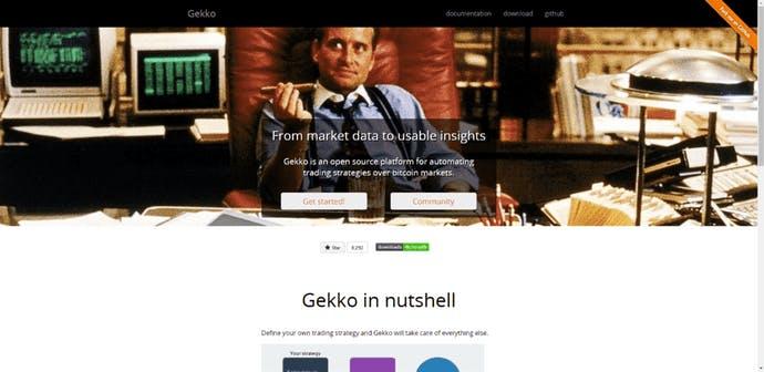 Gekko - the open source trading bot