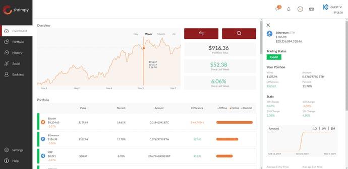 Automated portfolio management platform