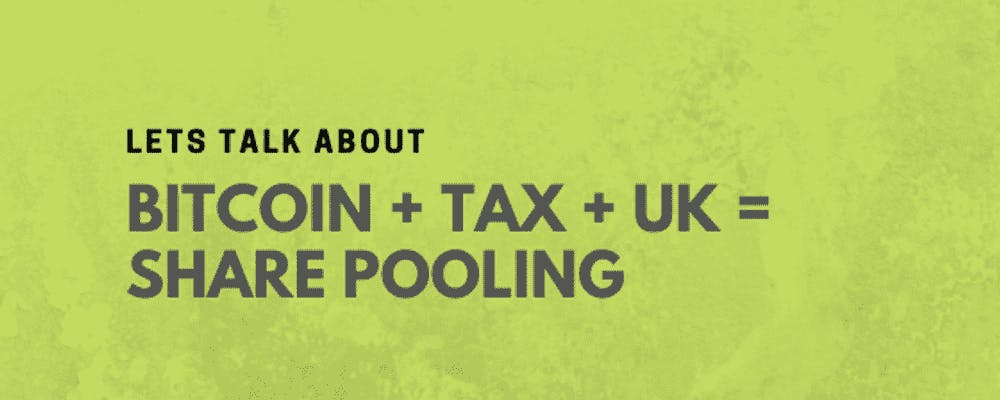 Bitcoing and Crypto taxes in the UK