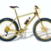 House of Solid Gold fatbike - nejdražší kolo na světě