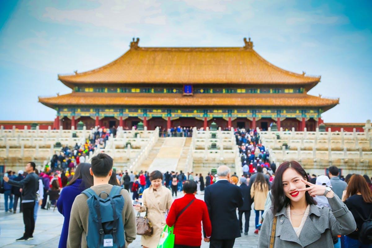 Forboðna borgin í Beijing