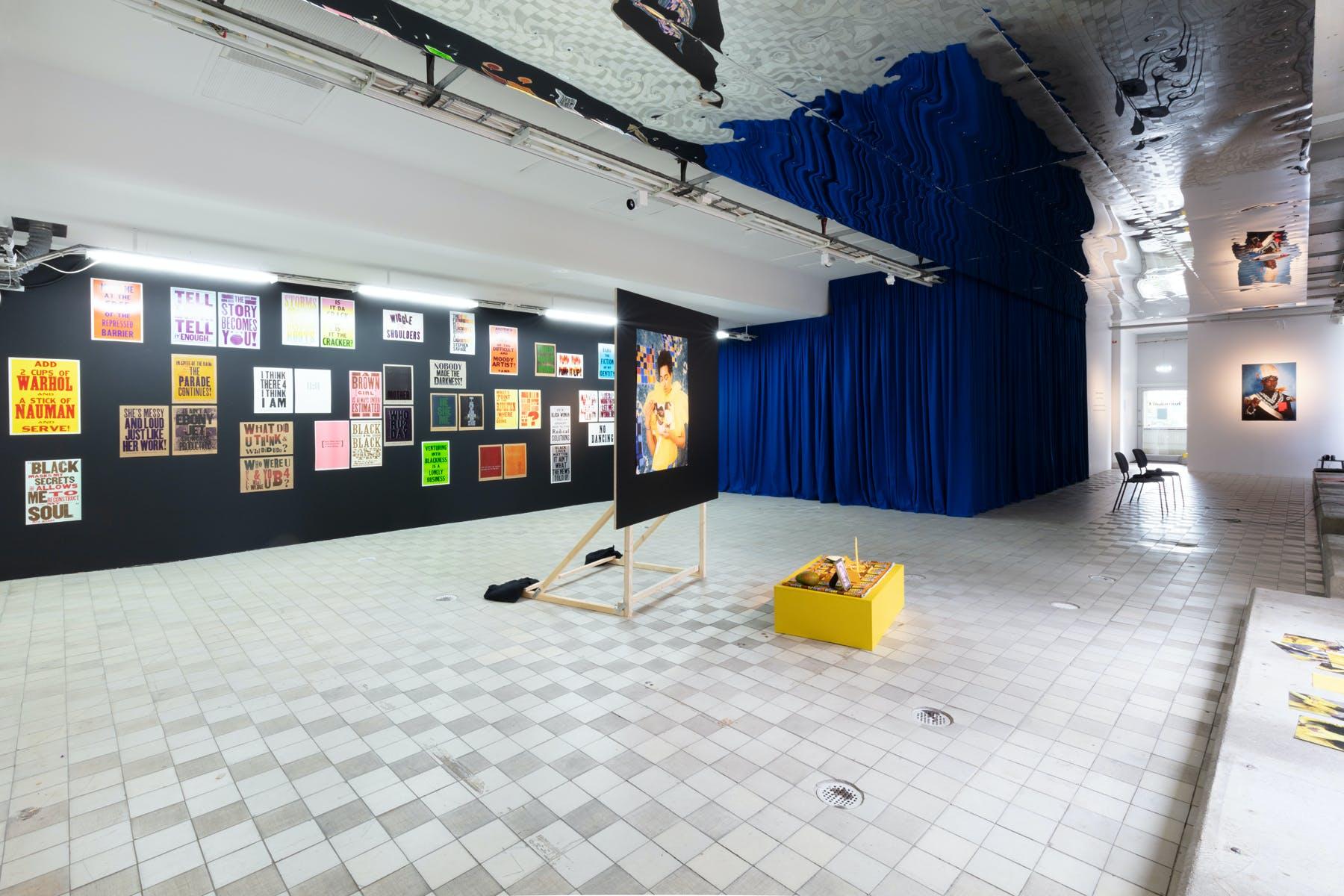 Under a Different Sun, group exhibition in 2020. Photo: Johan Österholm