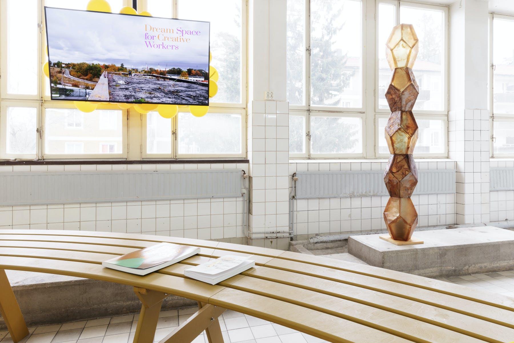Work by Flo Kasearu and Urban Fauna Lab. Photo: Johan Österholm