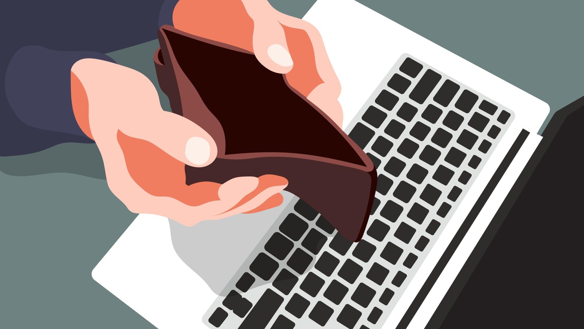 money-empty-wallet