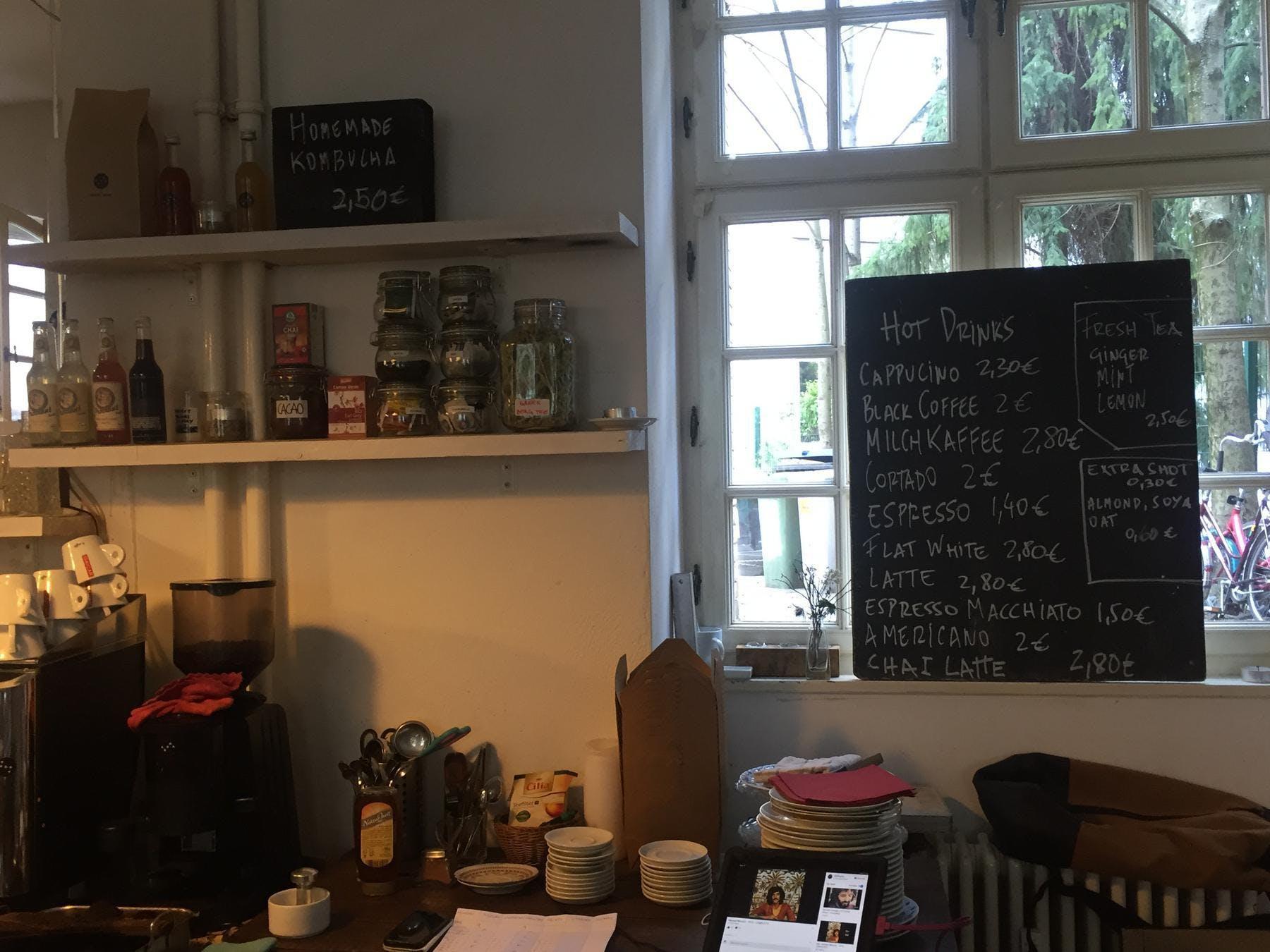 Agora Cafe-Angebot
