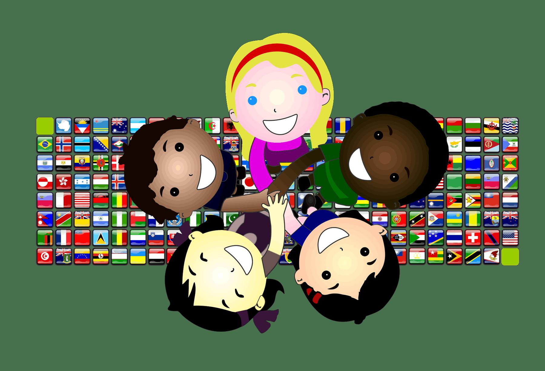 Globale Verbundenheit der Freelancer