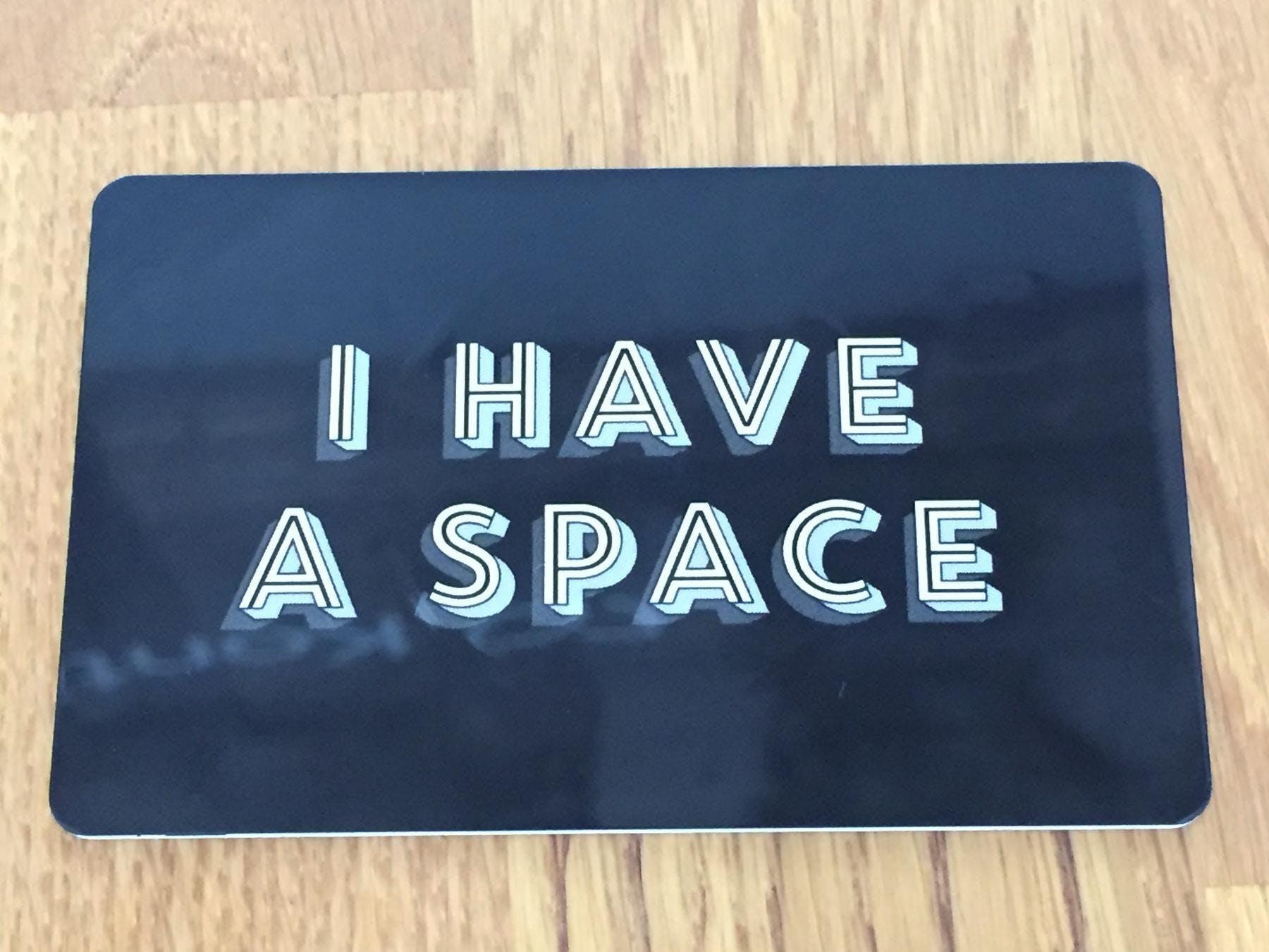 Mindspace Card