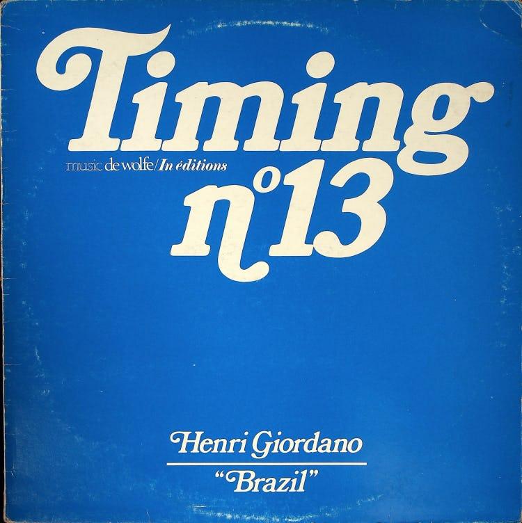 Timing No.13 フロント