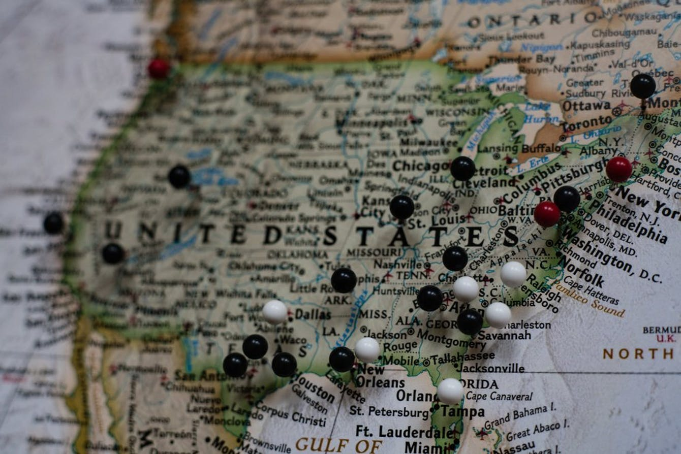 Featured image of U.S. map with pins