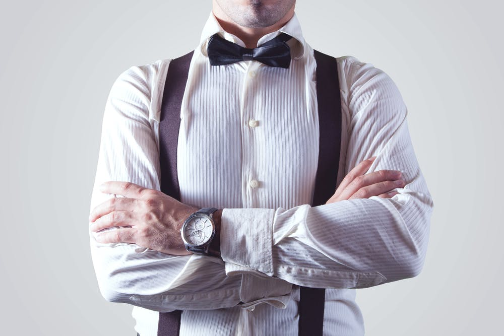 Photo of person with bowtie