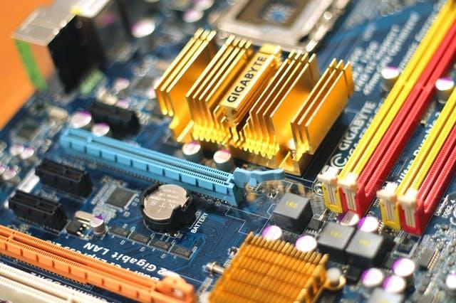 Image of computer CPU