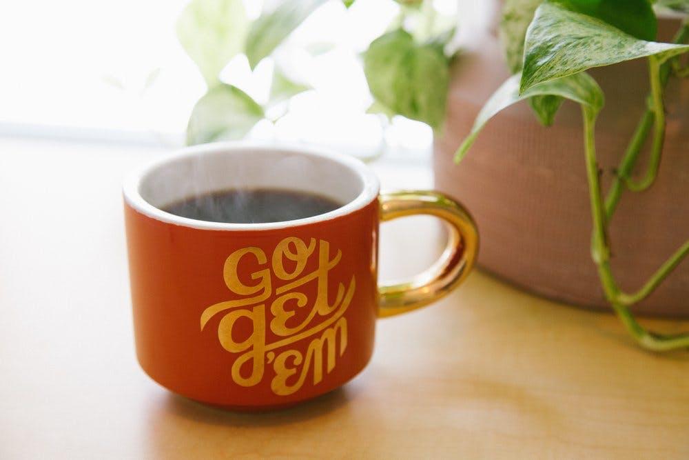 Go Get Em coffee mug