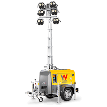 mobile Flutlichtanlage mieten