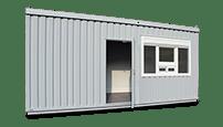 Bürocontainer mieten - klickrent