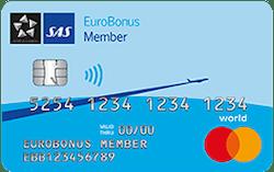 SAS Eurobonus World Mastercard