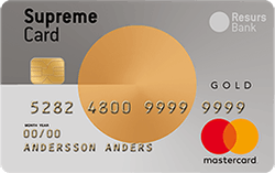 Supreme Card Gold