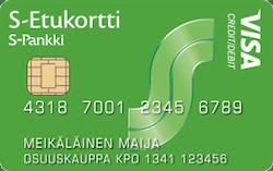 S-Etukortti Visa
