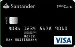 Santander 1Plus Visa