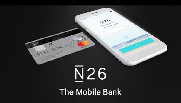 N26 kort med app