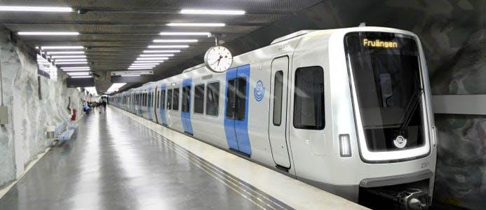 SL tunnelbana