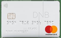 DNB Hvitt Mastercard