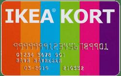 Ikea kort
