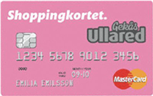 Ullared shoppingkortet