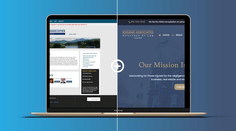 Kissane Associates Responsive Website Re-Design.