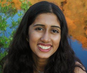 Decorative: Headshot of mentor, Shalaka