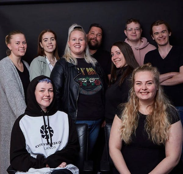Student committee at The Icelandic Film School winter 2020