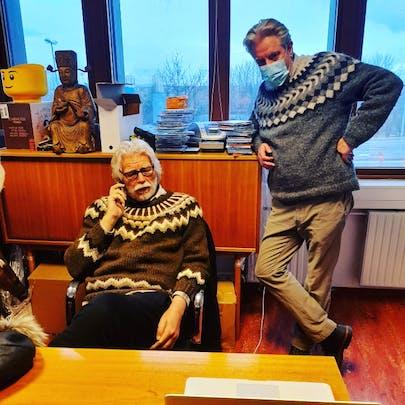 Friðrik Þór Friðriksson og Böðvar Bjarki Pétursson