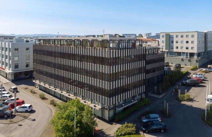 Our new HQ at Suðurlandsbraut 18 in Reykjavík